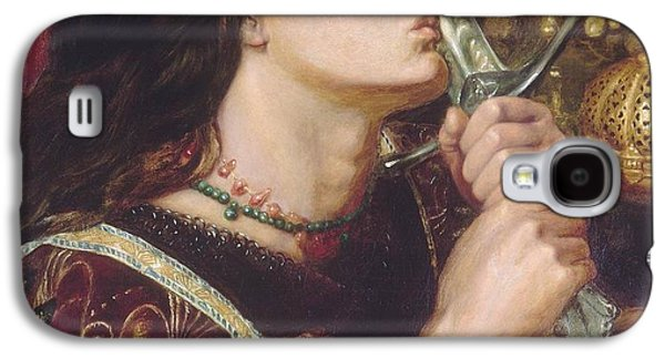 Joan Of Arc Kisses The Sword Of Liberation Galaxy S4 Case by Philip Ralley