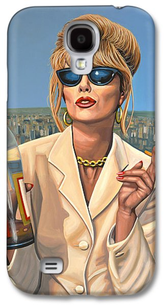 Joanna Lumley As Patsy Stone Galaxy S4 Case