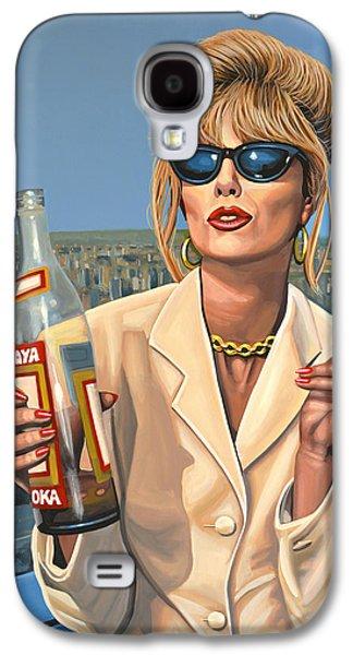 Joanna Lumley As Patsy Stone Galaxy S4 Case by Paul Meijering