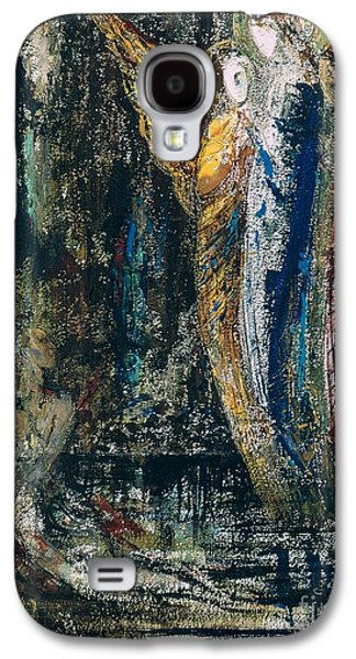 Job And The Angels Galaxy S4 Case by Gustave Moreau