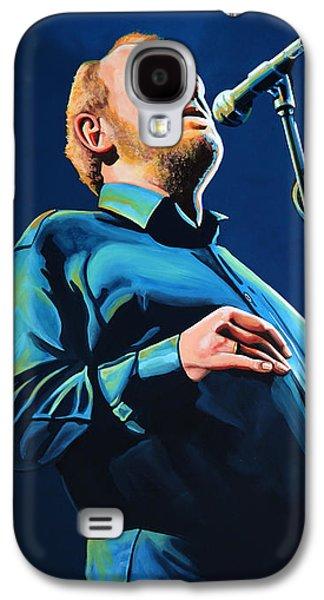 Joe Cocker Painting Galaxy S4 Case by Paul Meijering