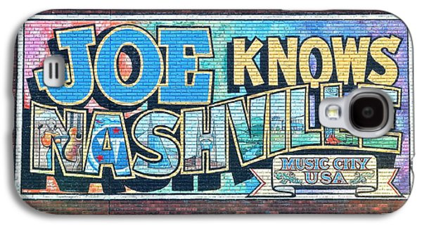 Joe Knows Nashville Galaxy S4 Case