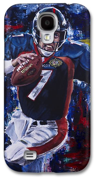 John Elway Galaxy S4 Case by Mark Courage