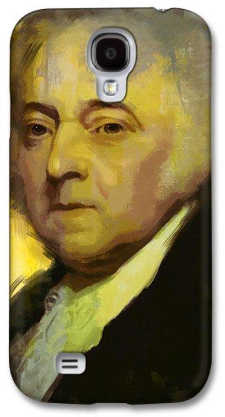 John Adams Galaxy S4 Case by Corporate Art Task Force