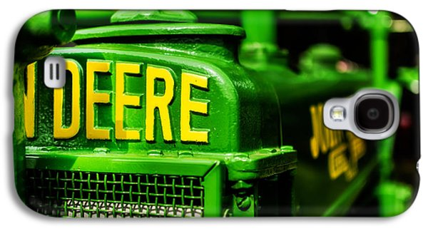 John Deere 1935 General Purpose Tractor Grill Detail Galaxy S4 Case by Jon Woodhams