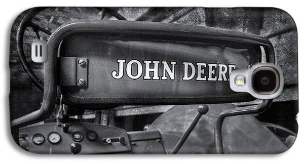 John Deere Tractor Bw Galaxy S4 Case by Susan Candelario