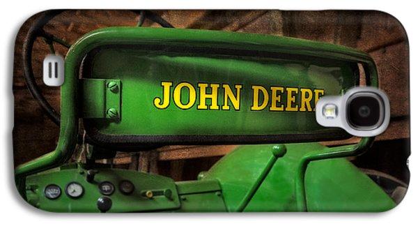 John Deere Tractor Galaxy S4 Case by Susan Candelario