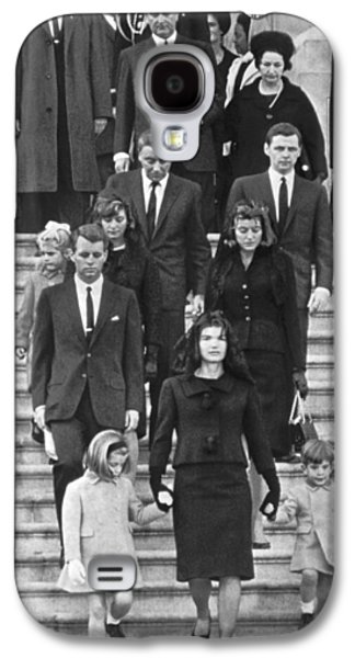 John F. Kennedy Funeral Galaxy S4 Case by Underwood Archives