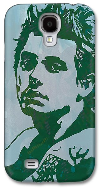 John Mayer - Pop Stylised Art Sketch Poster Galaxy S4 Case by Kim Wang