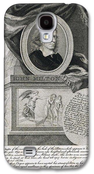 John Milton, English Poet Galaxy S4 Case by Folger Shakespeare Library