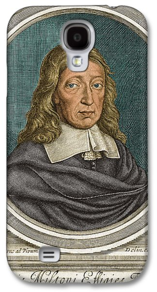 John Milton, English Poet Galaxy S4 Case by Science Source
