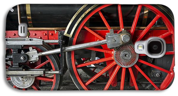 John Molson Steam Train Locomotive Galaxy S4 Case by Edward Fielding