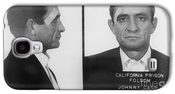 Johnny Cash Folsom Prison Large Canvas Art, Canvas Print, Large Art, Large Wall Decor, Home Decor Galaxy S4 Case