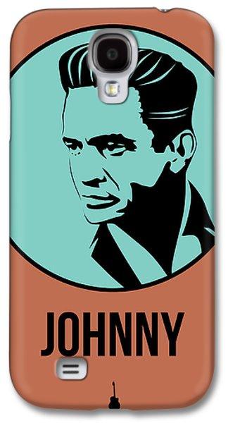 Johnny Poster 1 Galaxy S4 Case by Naxart Studio