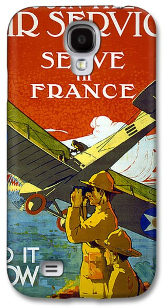 Join The Air Service, 1917 Galaxy S4 Case by J. Paul Verrees