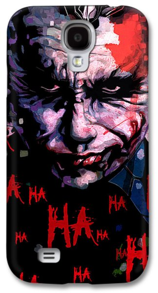 Joker Galaxy S4 Case by Jeremy Scott