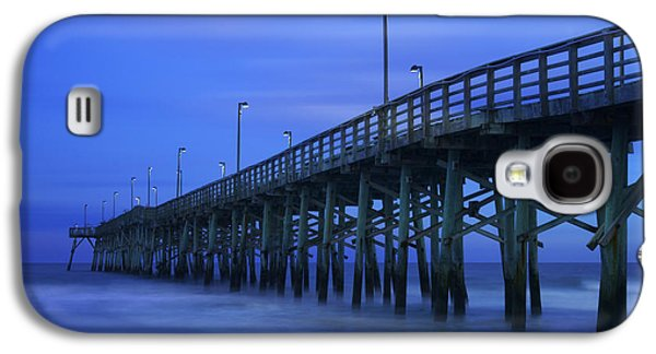 Jolly Roger Pier After Sunset Galaxy S4 Case by Mike McGlothlen