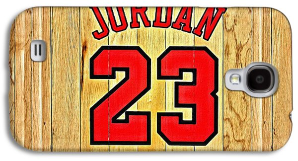 Jordan 23 Poster Galaxy S4 Case by Florian Rodarte