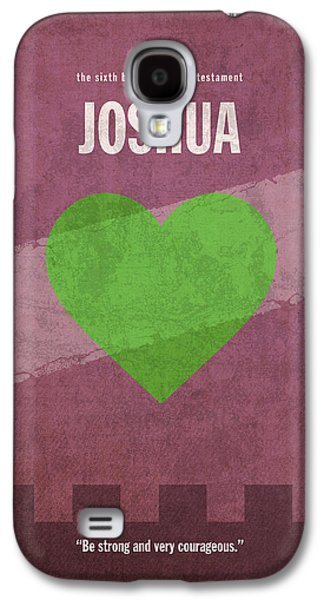 Joshua Books Of The Bible Series Old Testament Minimal Poster Art Number 6 Galaxy S4 Case