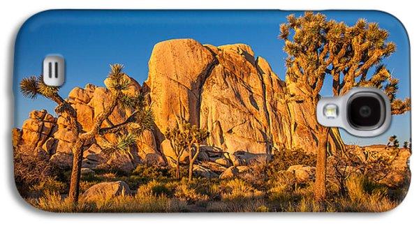 Desert Galaxy S4 Case - Joshua Tree Sunset Glow by Peter Tellone