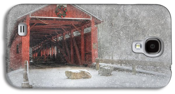 Josiah Hess Covered Bridge Galaxy S4 Case by Lori Deiter