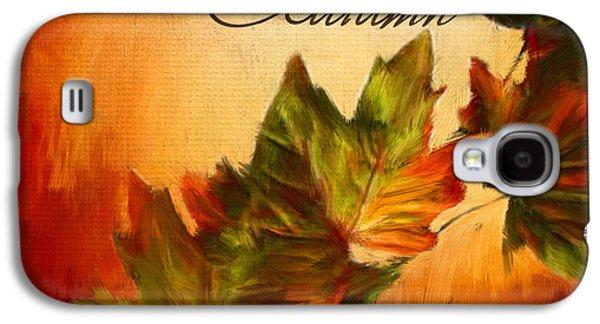 Joy Of Autumn Galaxy S4 Case by Lourry Legarde