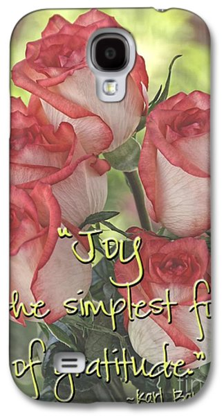 Joyful Gratitude Galaxy S4 Case