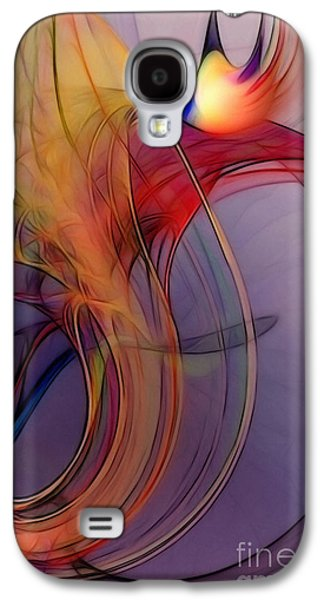 Joyful Leap-abstract Art Galaxy S4 Case