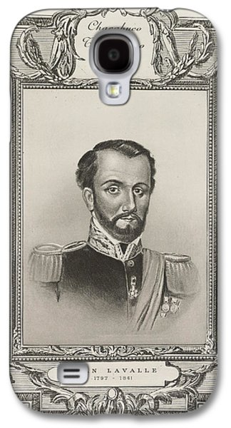 Juan Lavalle Galaxy S4 Case by British Library