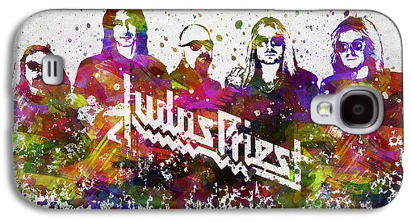 Judas Priest In Color Galaxy S4 Case by Aged Pixel