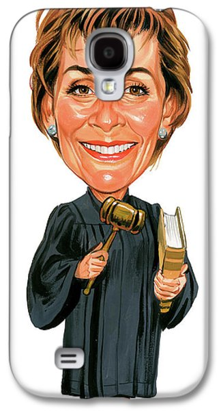Judith Sheindlin As Judge Judy Galaxy S4 Case by Art