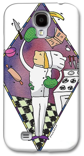 Juggling Chef Galaxy S4 Case