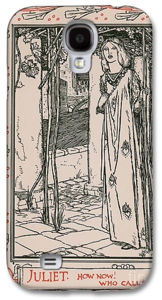 Juliet From Romeo And Juliet Galaxy S4 Case by Robert Anning Bell