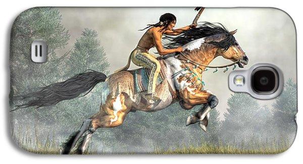 Jumping Horse Galaxy S4 Case by Daniel Eskridge