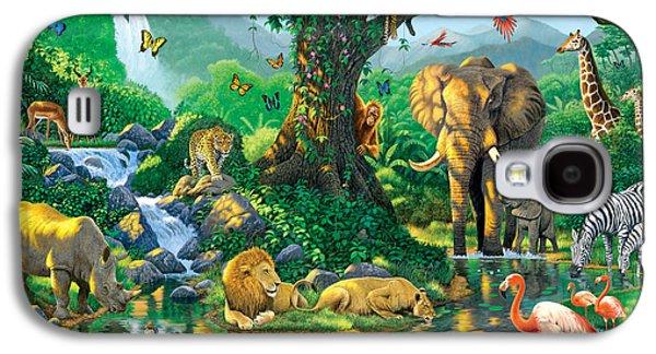 Jungle Harmony Galaxy S4 Case by Chris Heitt
