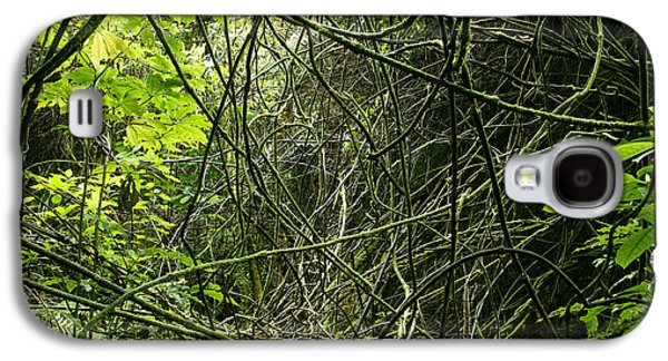 Jungle Vines Galaxy S4 Case by Les Cunliffe