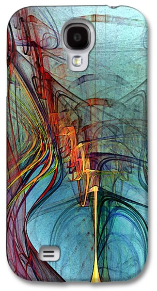 Just A Melody-abstract Art Galaxy S4 Case