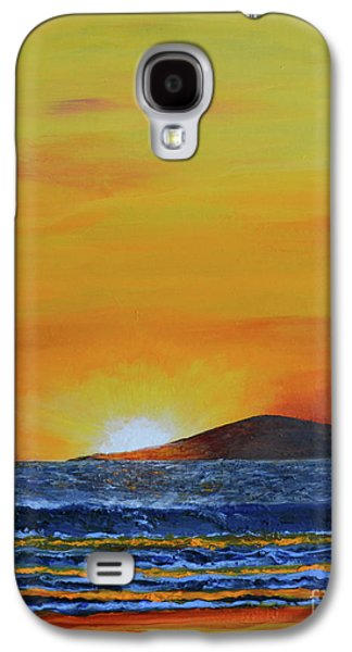 Just Left Maui Galaxy S4 Case by Suzette Kallen