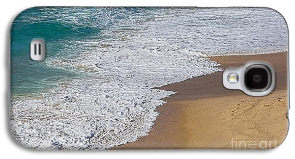 Just Waves And Sand By Kaye Menner Galaxy S4 Case
