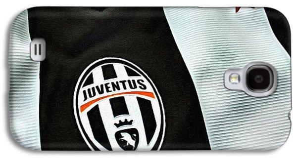 Juventus Poster Art Galaxy S4 Case by Florian Rodarte