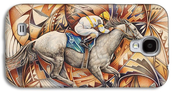Kaleidoscope Rider Galaxy S4 Case by Ricardo Chavez-Mendez