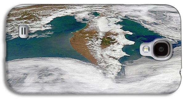 Kamchatka Peninsula Phytoplankton Bloom Galaxy S4 Case by Norman Kuring, Nasa Ocean Color Group