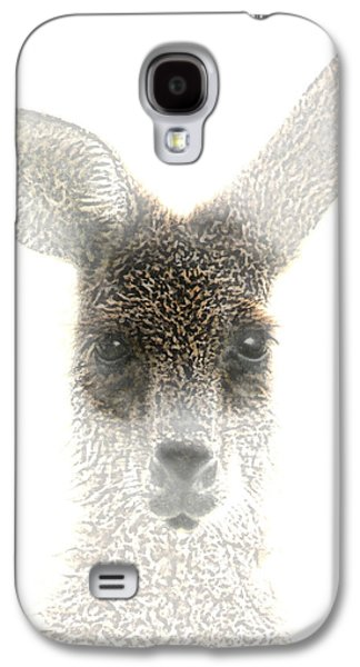 Kangaroo Galaxy S4 Case by Holly Kempe