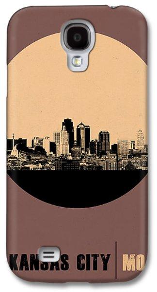 Kansas City Circle Poster 2 Galaxy S4 Case