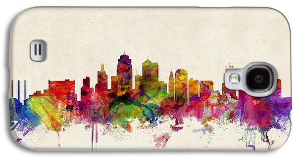 Kansas City Skyline Galaxy S4 Case
