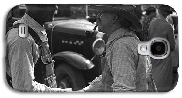Kansas Farmers, 1938 Galaxy S4 Case by Granger