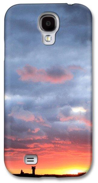 Kansas Sunset Galaxy S4 Case by JC Findley