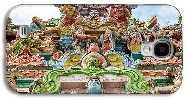 Kapaleeswarar Hindu Temple, Chennai Galaxy S4 Case by Peter Adams