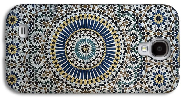 Kasbah Of Thamiel Glaoui Zellij Tilework Detail  Galaxy S4 Case by Moroccan School