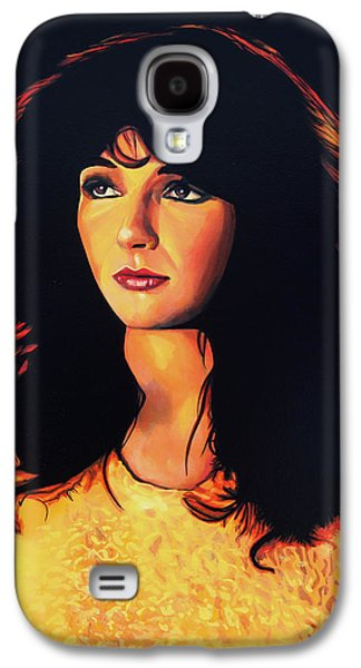 Kate Bush Painting Galaxy S4 Case by Paul Meijering